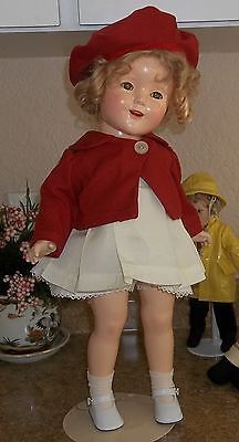 "18"" Marked Ideal Shirley Temple Compo Doll"