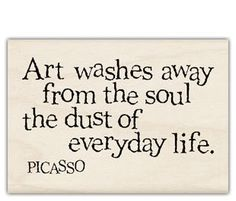 picasso - Art and gardening will do that RA !!!