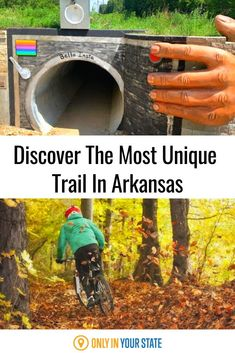 The recently debuted Little Sugar Trail System boasts some great trails, including the Tunnel Vision Trail. Brimming with unique features, like a tunnel and a life-size Big Foot, as well as natural elements, like a waterfall, it will take you on an adventure like no other! Best Bucket List, Hidden Beach, Swimming Holes, Natural Wonders, Arkansas, Travel Destinations, Trail, Waterfall, Adventure