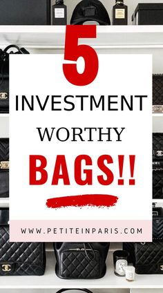 best investment bags Are you looking for the best investment worthy handbags of 2020? I've compiled a list to tell you the best bags to buy this year. Investment handbags, what bags to buy this year, white chanel, chanel, hermes, birkin, lady dior, dior, louis vuitton, LV, celine