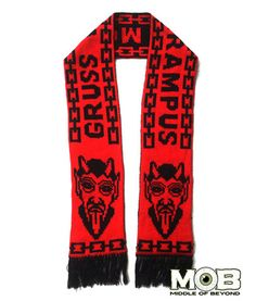 Krampus The Christmas Devil Knit Scarf – Middle of Beyond