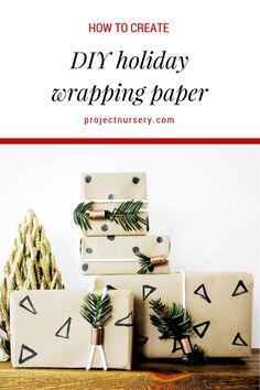 DIY Holiday Gift Pap