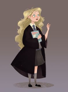 Just finished reading Order of the Phoenix for the umpteenth time, and had to draw my fave.