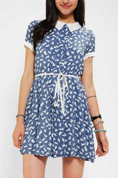 Collar dress :) #UrbanOutfitters