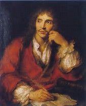Résultat d'images pour portrait de Molière