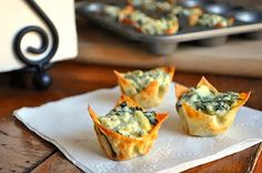Little B Cooks: Chronicles from a Vermont foodie: Appetizers. Spinach & Artichoke Bites