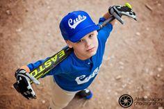 Boy's baseball portrait. Charlotte, NC Photographer #sports picture # Charlotte child photographer