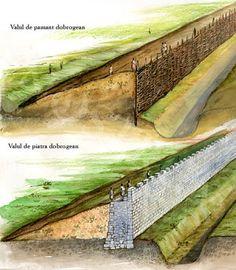 ziduri dacice - vallum