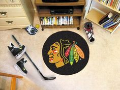 Puck Mat - NHL - Chicago Blackhawks
