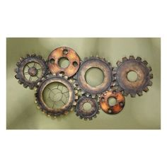 Gear Wall Art Home Decor Steampunk â On