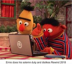 While browsing for sex slaves on the dark web, Bert points out the the handicapped options are cheaper and less likely to escape. Sesame Street Memes, Thanos Avengers, Bert & Ernie, Bert And Ernie Meme, Lord, Fresh Memes, Kpop, Offensive Memes, Edgy Memes