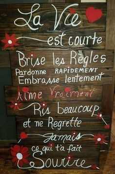 La vie... - #la #vie Morning Greetings Quotes, Good Morning Quotes, Love One Another Quotes, Quote Citation, French Quotes, Good Vibes Only, Good Thoughts, Positive Attitude, Positive Affirmations
