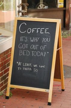 Coffee is why you got out of bed today. At least we like to think so. Coffee Talk, Coffee Is Life, I Love Coffee, Coffee Break, Coffee Lovers, Morning Coffee, Coffee Tasting, Coffee Drinks, Coffee Cups