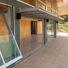 Alternative Or Unusual Garage Door Opening Ideas The