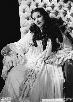 Callas as Violetta, Mexico City, 1951
