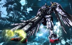 """My other soul anime Gundam Wing me and my brother grew up around robotic anime """"mecha anime"""" and military air force games"""