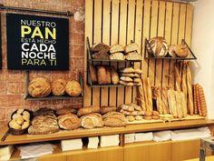 ¡Pan recién hecho cada mañana!