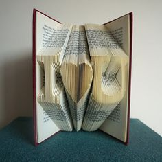 Custom-made book sculpture   16 Perfect Valentine's Day Gifts For Book Lovers