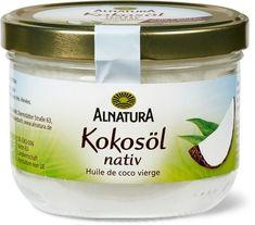 Alnatura Kokosöl nativ Coconut Oil, Jar, Food, Cleaning, Foods, Household, Essen, Meals, Yemek