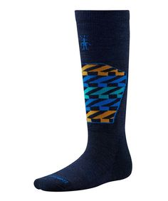 Love this SmartWool Navy Ski Racer Merino-Blend Knee-High Socks - Men by SmartWool on #zulily! #zulilyfinds