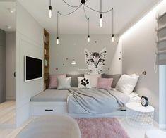 Room Ideas Bedroom, Small Room Bedroom, Modern Bedroom, My Room, Girl Room, Diy Bedroom Decor, Home Decor, Dream Rooms, Luxurious Bedrooms