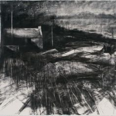 Donald Teskey RHA,Small hours, Charcoal on paper, 76 x courtesy of the artist and the Rubicon Gallery White Art, Black And White, Drawing Practice, Pastel Drawing, Chiaroscuro, Charcoal Drawing, Culture Travel, New Art, Amazing Art