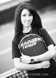 Tennis senior pictures- I may not be great at tennis but I still love playing. :)