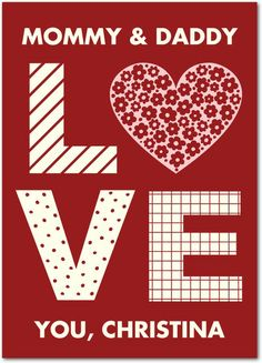 Full of Love - Valentine's Day Cards in Rich Red | pincushion