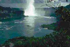 Niagara Falls. I want to see this