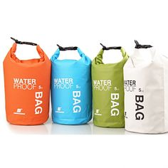 Outdoor Waterproof Ultralight Dry Bag For Camping Hiking Rafting                                                                                                                                                                                 More