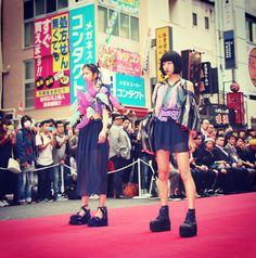 Tokyo New Age Runway in Shibuya Fashion Week. Ruka〜 ♡ (Right)