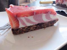 Zebra Erdbeerjoghurttorte (no bake)