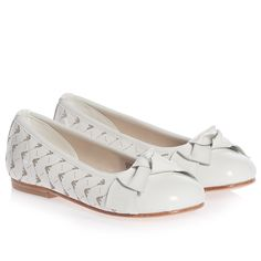 Girls Ivory Patent Leather Shoes - Pumps   Loafers - Shoes  7fdb058953f34