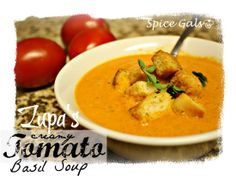 This is my favorite Zupa Soup!  Can't wait to try it.     Spice Gals: Zupa's Tomato Basil Soup