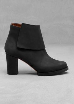 Block heel boots | Black | & Other Stories