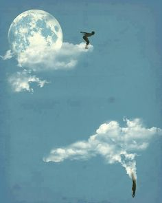 Cloud diving