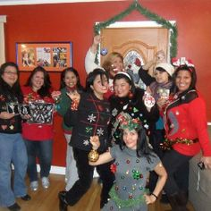 Original Pinner SuperMom! Second Annual Ugly Sweater Christmas Party 2011!