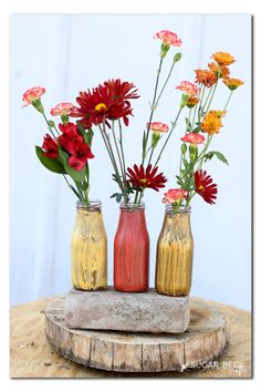Find out how you can crackle paint using Elmer's Glue-All! It's so easy and creates an amazing look to wood, glass, and any other surface. #DIY #CracklingPaint