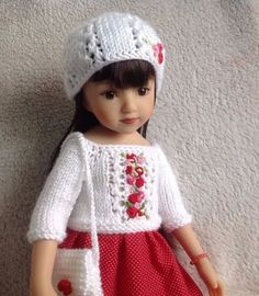 Handknitted-outfit-for-13-dolls-Dianna-Effner-Little-Darling-Betsy-McCall-MARU