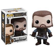 Amazon.com : Funko POP Game of Thrones: Ned Stark Vinyl Figure : Action Figures : Toys & Games