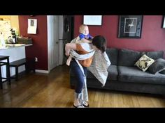 ▶ Jordan's back carry JBC with a sling ring - YouTube