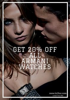 Armani-Watches Visit: http://www.tic2toc.com/