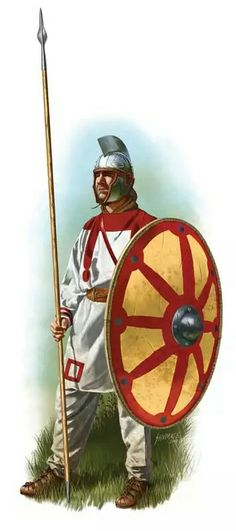 Late Roman legionary 4th century AD