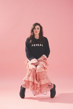 In the wake of the Belfast rape case and the newly announced referendum date, it's time to listen up to Irish women - like comedian Aisling Bea Aisling Bea, Phoebe Waller Bridge, Intersectional Feminism, Dark Hair, Comedians, Beautiful Women, Hipster, Celebrities, Casual