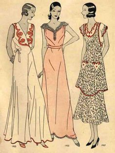 McCall Style News, August 1931 featuring McCall 1902 and 1907 1930s Fashion, Fashion Line, Retro Fashion, Fashion News, Vintage Fashion, Classic Fashion, Female Fashion, Fashion History, Fashion Art