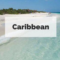 Travel to Caribbean destinations and find beautiful beaches, snorkeling, sailing and diving in Puerto Rico, US Virgin Islands, British Virgin Islands, Bermuda, Barbados, Antigua, Dominican Republic, Aruba, Bonaire, Curacao, St Kitts, Cuba, Jamaica, Turks & Caicos, Anguilla, St Maarten, Grenada, Trinidad & Tobago and more.