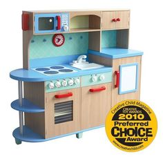 Amazon.com: GuideCraft All - in - One Play Kitchen