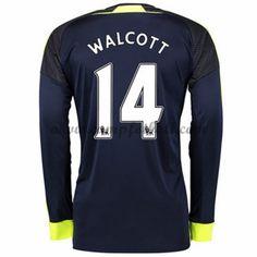 Arsenal Fotballdrakter 2016-17 Walcott 14 Tredjedrakt Langermet