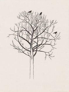Tree (with crows) pr