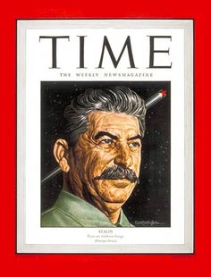 TIME Magazine Cover: Joseph Stalin - Feb. 5, 1945 - Joseph Stalin - Russia - Communism - Joseph Stalin